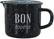 KRÜGER Bon Appetit Faitout émaillé Noir/marbré