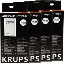 Krups AntiCalc Kit F054Détartrant Lot de 4