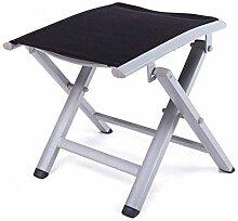 KRXLL Tabouret Pliant en Aluminium - Chaise