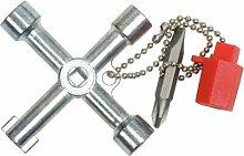 KS Tools 130.1015 Clé universelle pour Armoire