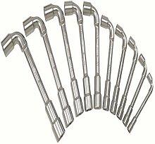 Ks Tools 517.0442 Jeu De 12 Clés À Pipe