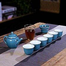 Ksnrang Bureau de la ménage coloré Tasse de thé