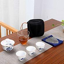 Ksnrang Céramique Voyage Tea Ensemble Creative