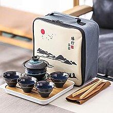 Ksnrang dans l'ensemble Portable de thé de