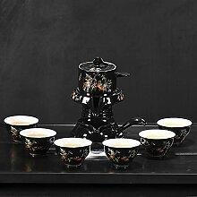 Ksnrang Paresseux Kung fu Tige de thé céramique