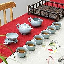 Ksnrang RU Four en céramique Tasse à thé