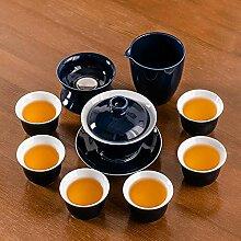 Ksnrang Service à thé en céramique Jilan
