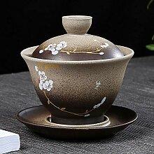 Ksnrang Tasse à thé en céramique Artisanale de
