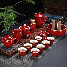 Ksnrang Tasse à thé en Porcelaine Blanche Dehua