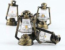 KSSTOO Lampe à Huile Ancienne Lampe à Huile