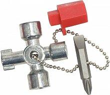 Kstools - KS TOOLS 130.1010 Mini clé universelle