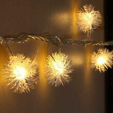 kueatily de Boules de Neige, 8.2ft / 20 LED