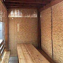 kufu01 Naturel Rideau de Roseau,Store en Bambou