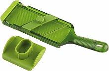 KUHN RIKON Mandoline réglable Vert, Plastique, 26