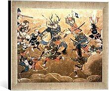 Kunst für Alle 'Image encadrée de Japonais