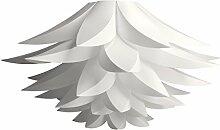 kwmobile Lampe puzzle design lotus - Abat-jour
