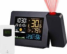 Kymzan sans Fil Horloge de météo LED Écran