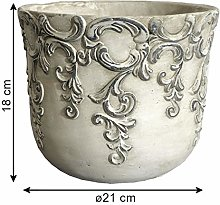 L'ORIGINALE DECO Style Ancien Cache Pot