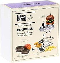 La Bonne Graine BG20P003 Kit Burger, Marron et