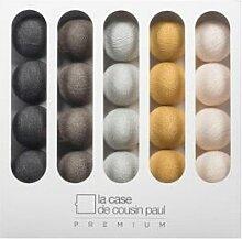 La Case de Cousin Paul Guirlande lumineuse La Case