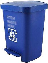 La poubelle peut plastique, épaissir de type