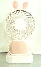 La selection, Ventilateur Lapin rose portable
