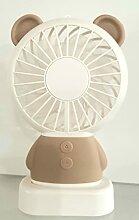 La selection, Ventilateur Ours beige portable