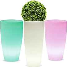 La Vida en Led Pot de fleurs lumineux LED RVB