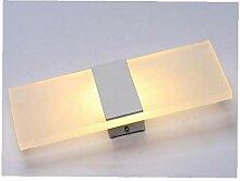 LAANCOO LED Lumière Applique Murale Lampe Moderne
