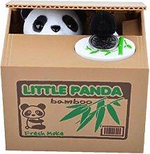 LAANCOO Steal Tirelire Panda Tirelire Tirelire Kid