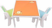 Labebe Meubles Bois, Table Enfants et Chaise ou