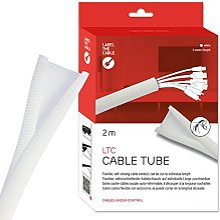 Label-the-cable tube cache-câbles, gaine