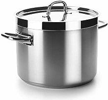Lacor - 54123S - Marmite Basse Chef Luxe - Sans