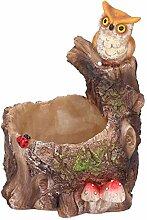 Ladieshow Pot de plante innovant imperméable à