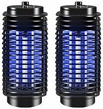 LAKIOMZ 2pcs Anti-Moustique Lampe Repellent Killer