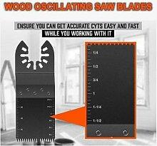 Lames de scie oscillantes pour bois, pour outil