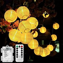 Lamker 30LED Lanterne Guirlande Lumineuse Batterie