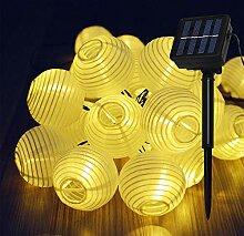 Lamker 30LED Lanterne Guirlande Lumineuse Solaire