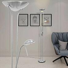 Lampadaire a LED a eclairage reglable 23 W