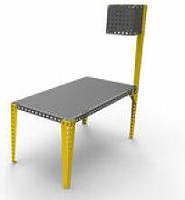 Lampadaire à visser sur tables Meccano / H 180 cm