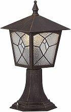 Lampadaire aluminium rusé luminaire sur pied