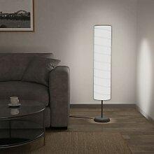 Lampadaire avec support 121 cm Blanc E27