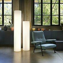 Lampadaire cylindrique lumineux de design moderne