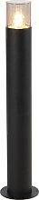 Lampadaire d'extérieur moderne 70 cm noir -