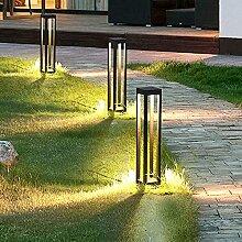 Lampadaire de poteau de jardin en aluminium