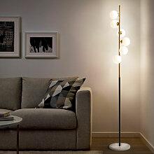 Lampadaire design avec abat-jour LED avec base en