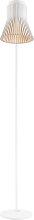 Lampadaire design blanc H130cm