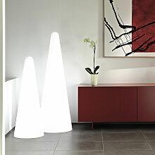 Lampadaire design pyramidal moderne Cono | Taille: