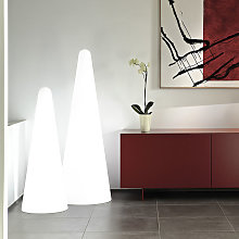 Lampadaire design pyramidal moderne Slide Cono |