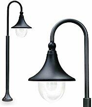 Lampadaire Elgin 120 cm couleur noir